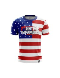 T-SHIRT paint me i'm famous USA